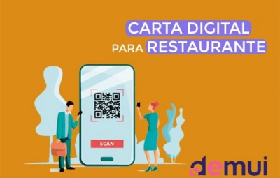 Carta digital para Restaurante